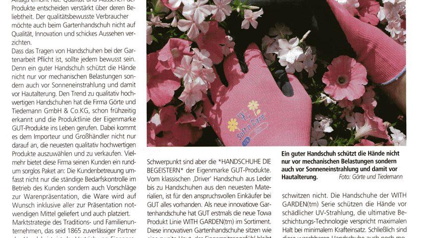Qualitativ hochwertige Gartenhandschuhe