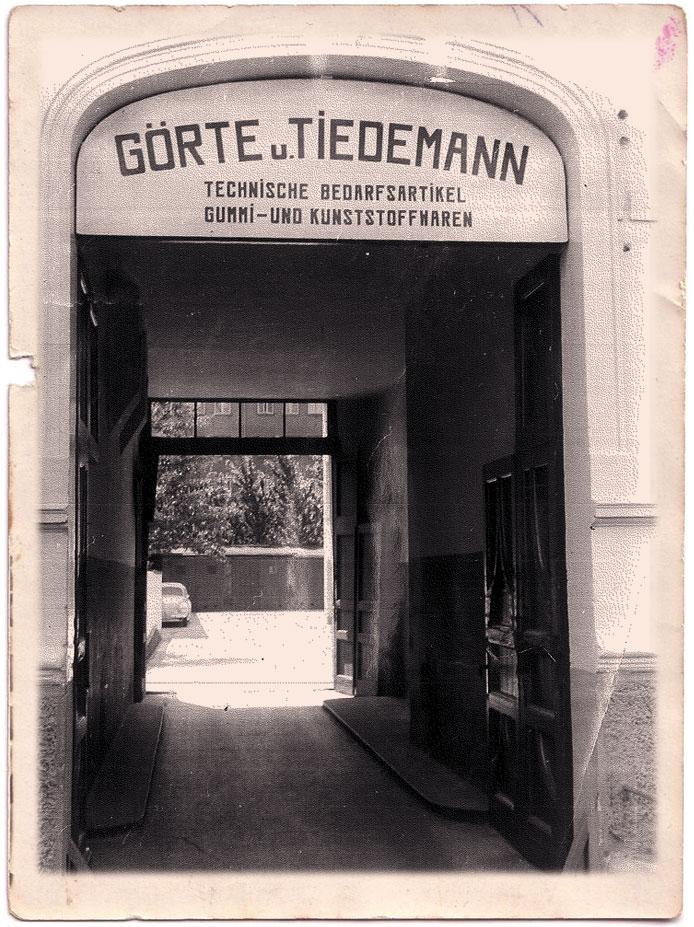 geschichte Görte & Tiedemann GmbH & Co KG