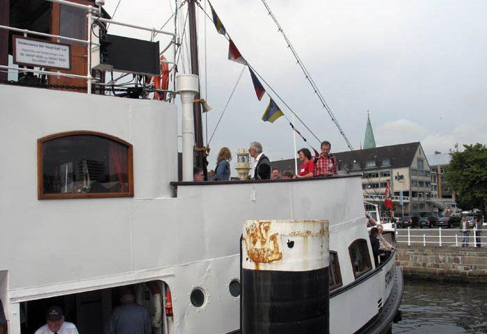 Mit MS Stadt Kiel zur Kieler Woche