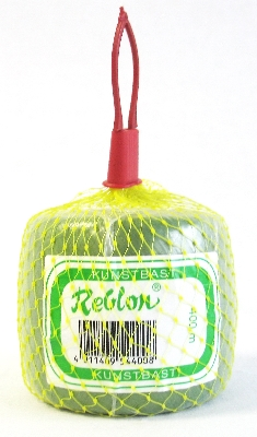 Kunstbast`Reblon`grün Kn.400m